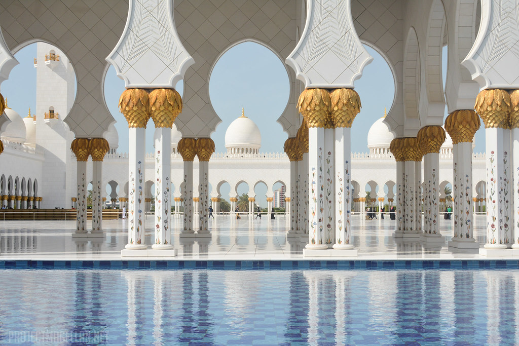Sheikh Zayed Grand Mosque Center, Dubai, United Arab Emirates, UAE, Abu Dhabi