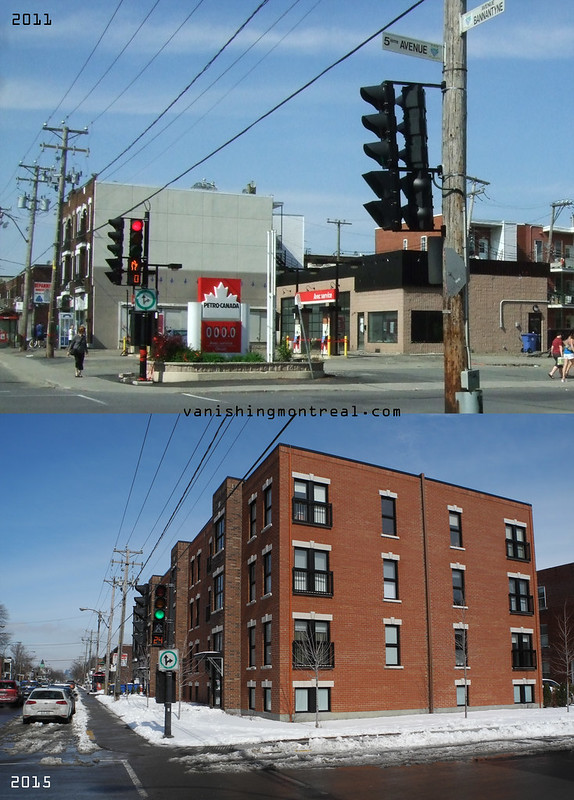 Before / After : Petro Canada on Bannantyne