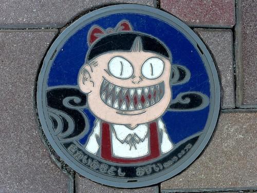 Sakaiminato Tottori, manhole cover 5 (鳥取県境港市のマンホール5)