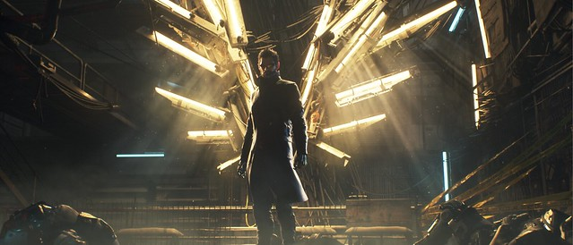 Deus Ex: Mankind Divided on PS4