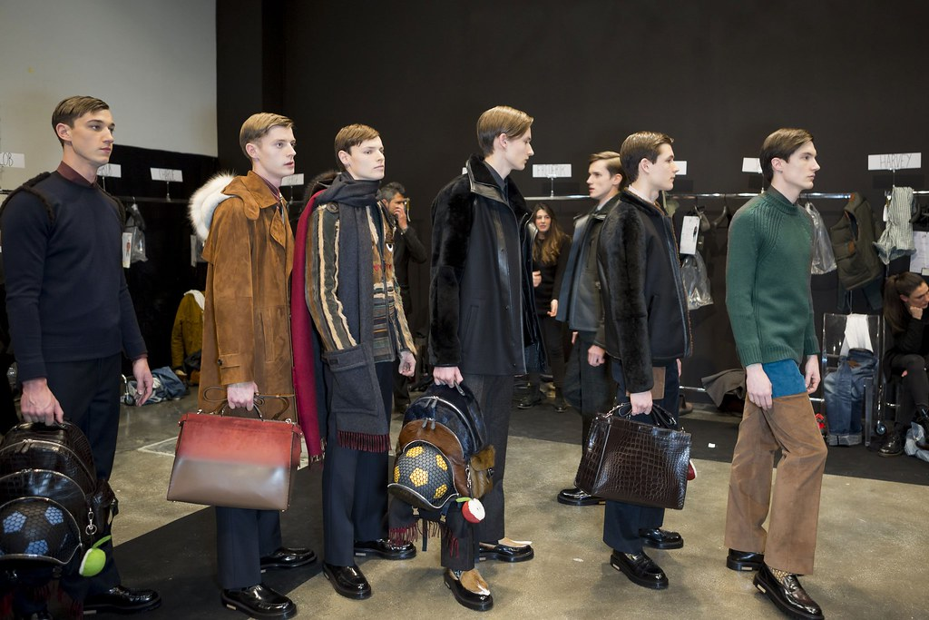 FW15 Milan Fendi257_Harvey, Janis, Christopher, Frederik, Florian Luger, Charlie Timms(fashionising.com)
