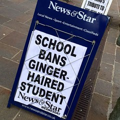 Evidence - if any were needed - that the English fear the Scots!! #Cumbria #News #Ginger