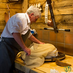 Le Chalet Bio Cheese in its Making - Chateau d'Oex, Switzerland