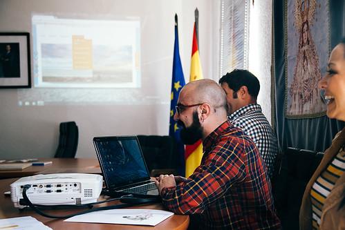 presentación de la oficina virtual de promoción económica de Villamayor de Calatrava