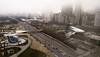 Foggy Millennium Park
