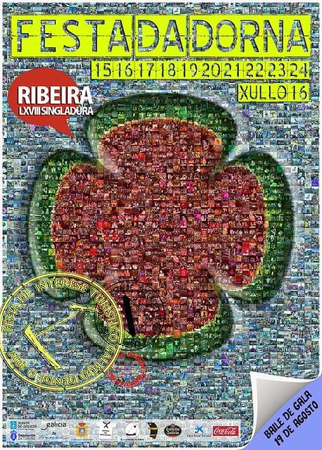 Ribeira 2016 - Festa da Dorna - cartel