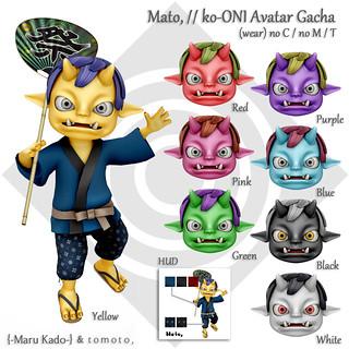 Mato, // ko-ONI Avatar Gacha