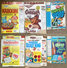 Vintage Kaboom Super Sugar Crisp Count Chocula Cereal Boxes by gregg_koenig