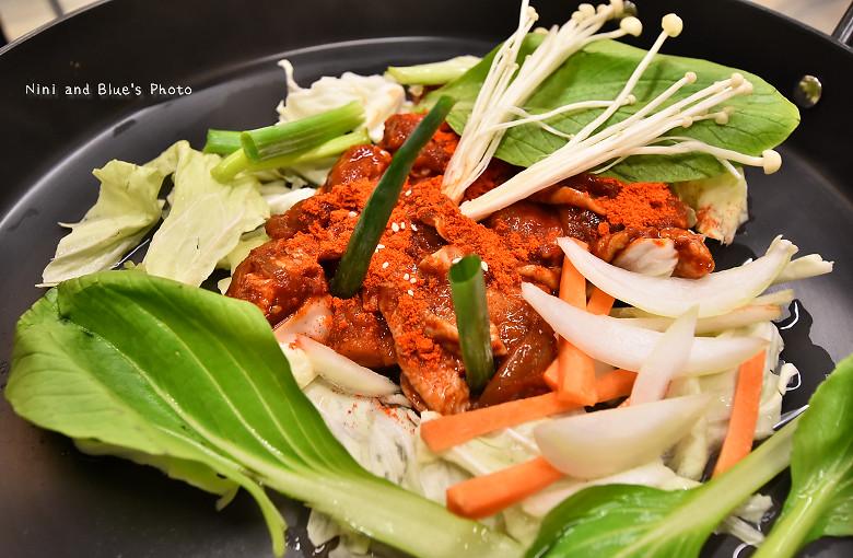 韓五二台中韓式料理韓國人開的09