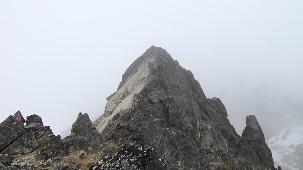 Panoramic view on Emerald Peak