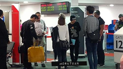 BIGBANG Melbourne Arrival 2015-10-20 (6)
