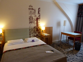 Habitación del Hotel Mercure de Rodez (Aveyron, Francia)
