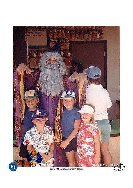 Wonderland - Merlin the Magician #1