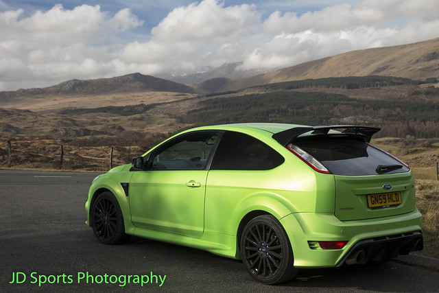 Ford Focus RS MK2 Ultimate Green