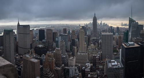 nyc panorama usa newyork cityscape unitedstates manhattan rockefellercenter viewpoint megalopolis