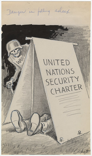 United Nations Charter photo