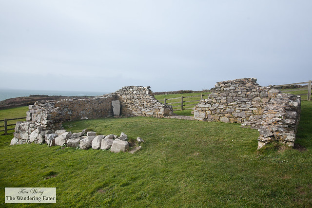 Ruins of St. Non's Chapel