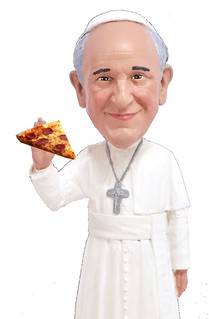 The Pope Loves Pizza