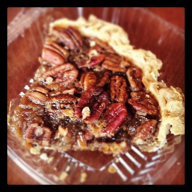 Pecan pie from Petsi pies