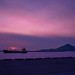 The twilight in the Mitsuhama Port,Ehime,Japan :愛媛県、三津浜港の夕暮れ