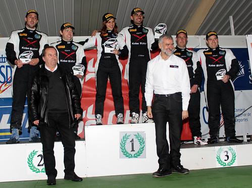 Podio final Copa Kobe Motor Rallye Tierra Curtis 2015