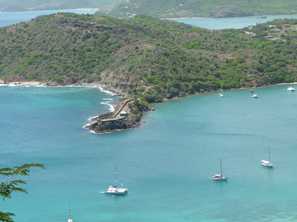 Views from Shirley's Lookout in Antigua