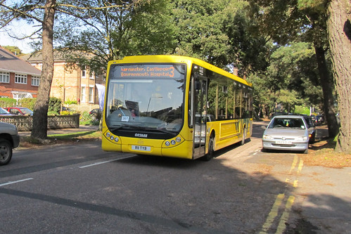 SA11 Yellow Buses, Bournemouth
