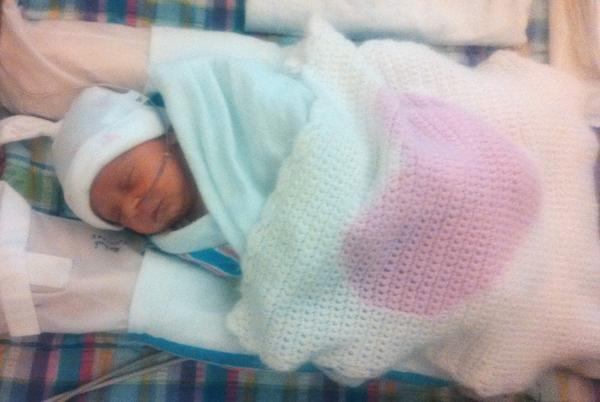 NICU baby Eleni