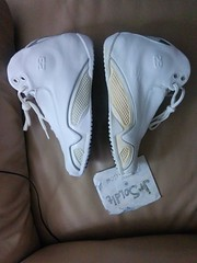 Air jordan 21 XXI (GS) white metallic sillver-black SIZE 5.5 Y Deadstock