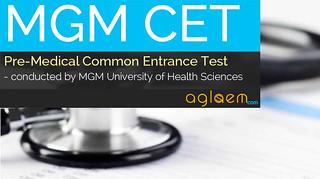 MGM CET 2015 (MGMUHS)