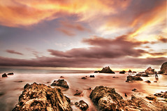 Dramatic Sunset...., El Metador Beach, California