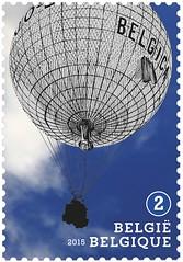 16 Luchtballonnen zegel B