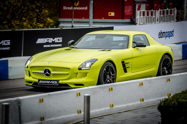 Image of Mercedes-Benz SLS AMG Electric Drive