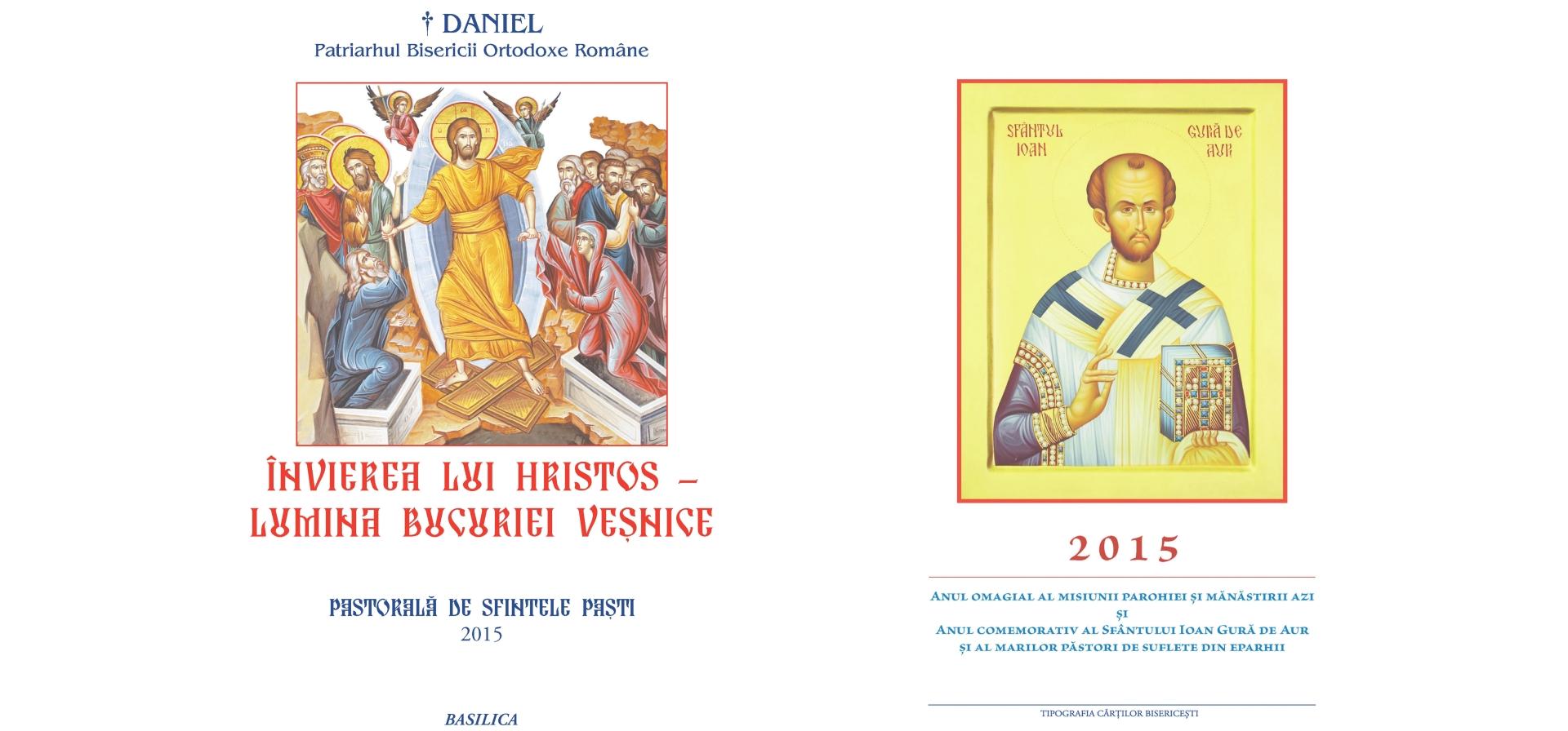 pastorala pascala patriarhala 2015