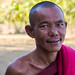 Monk in Mrauk u, Burma
