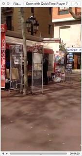 Pantallasso d'un vídeo de Meerkat