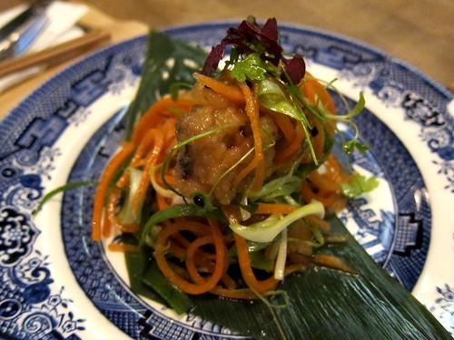 Mackerel – nanban style (escabeche)