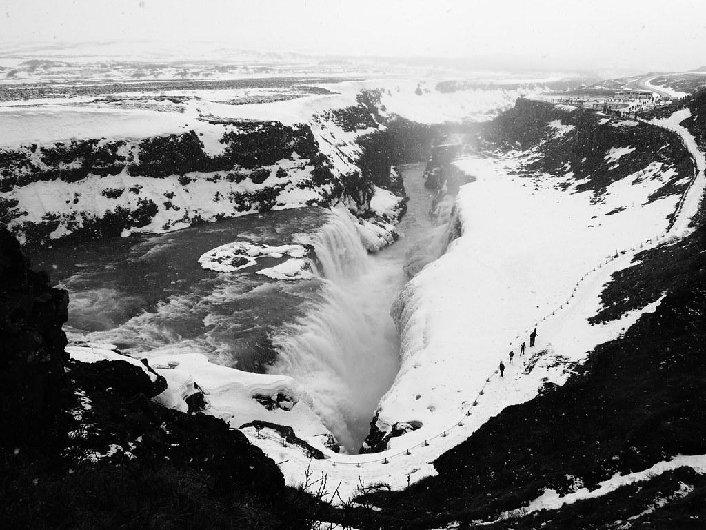reykjavik Iceland golden circle tour gullfoss (3)