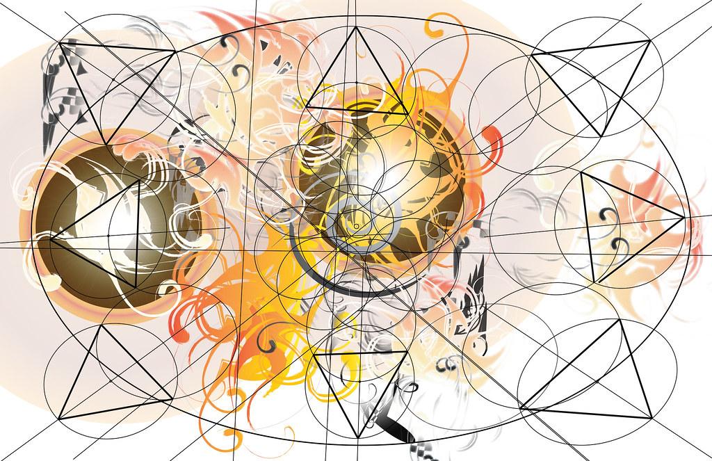 Mandala w/structure