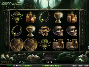 Voodoo Magic slot game online review