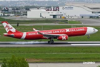 AirAsia X A330-343 msn 1612