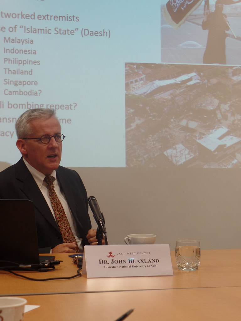 Dr. John Blaxland Senior Fellow, Strategic and Defence Studies Centre (SDSC), College of Asia and the Pacific, Australian National University (ANU)