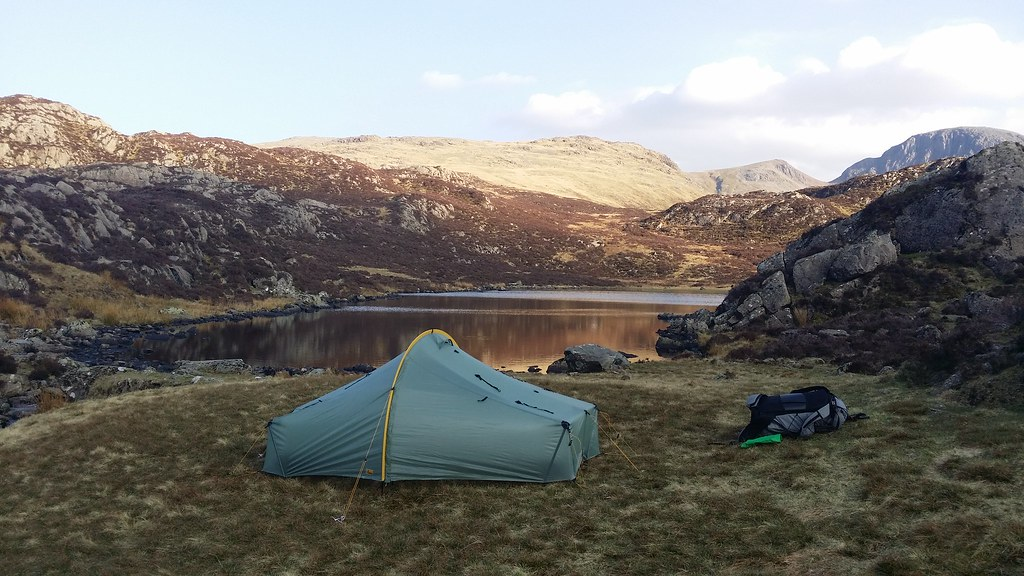 Camp at Blackbeck Tarn #sh