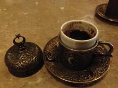 cup(1.0), coffee(1.0), coffee cup(1.0), turkish coffee(1.0), drink(1.0), caffeine(1.0),