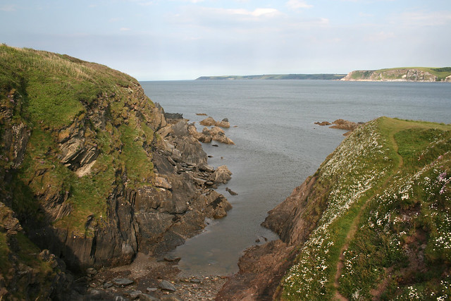 The south east corner of Burgh Island
