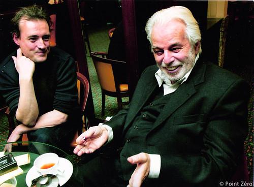 ジャン=ミシェル・ドープ(左)・ホドロフスキー(右)ⒸPoint Zéro