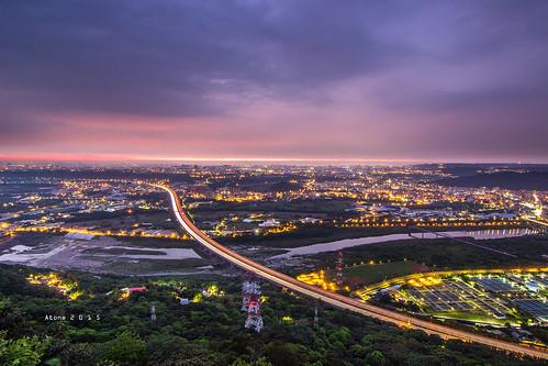 canon landscape star taiwan resort tokina 夕陽 taipei 台灣 日落 cpl 三峽 atone 1116 600d 鳶山 車軌