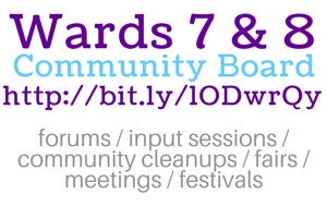 Wards 7 & 8 Community Board logo