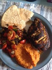 Bombay chicken dish