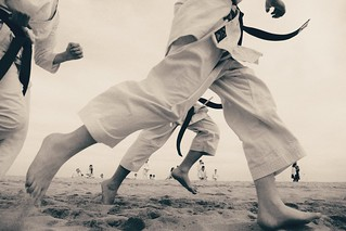Karate beach